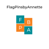 Flag Pins by Annette